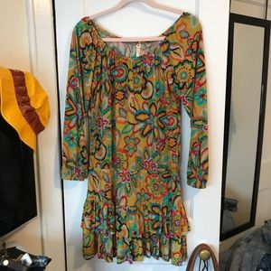 Anthropologie Uncle Frank Floral Dress